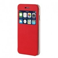 Foto van BUTTERFLY Case iPhone 6 Plus Red