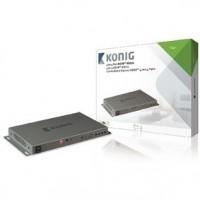 Foto van 4 x 4-Poorts HDMI Matrix Donkergrijs