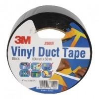 Foto van Scotch duct tape 2000 50 mm 50 m zwart