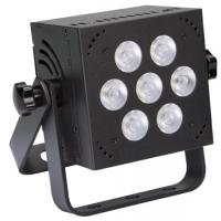 Foto van MINI LED-PAR - 7 x 8 W RGB - VIERKANT