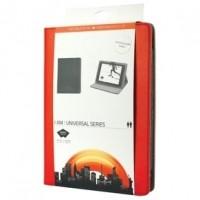 """Foto van Universele tablethoes van kunstleer voor tablet 9-10"""" rood"""