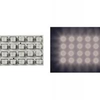 Foto van VERLICHTINGSMODULE - WITTE LEDS MET RONDE DIFFUSER - 12V - 34 x 20mm