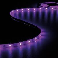 Foto van KIT MET FLEXIBELE LED-STRIP, CONTROLLER EN VOEDING - RGB - 150 LEDs - 5 m - 12 Vdc - ZONDER COATING