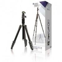 Foto van Professioneel Camera/Video Statief Balhoofd 137 cm Zwart