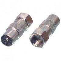 Foto van IEC / F-adapter
