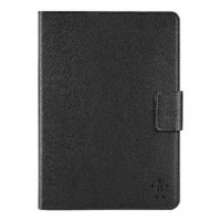 Foto van Leather tab cover with stand for iPad mini