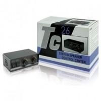 Foto van 2-weg stereo luidsprekerschakelaar