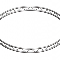 Foto van PROLYTE - CIRCLE AO2 TRUSS, RADIUS 200 cm IN .. PIECES