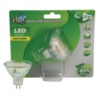 Foto van GU5.3 LED MR16 22 W warm wit
