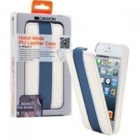 Foto van Tablet Flip-case Apple iPhone 5s Wit/Blauw