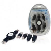 Foto van Uittrekbare USB 2.0 kabelkit