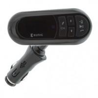 Foto van FM Audiozender Bluetooth 3.5 mm Zwart