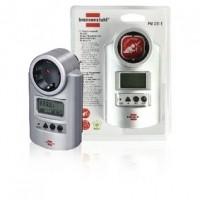 Foto van Energie power meter met klok en meetfuncties