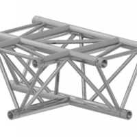 Foto van PROLYTE - TRIANGLE 30 3-WAY T-JOINT HORIZONTAL
