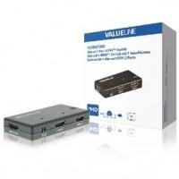 Foto van 2-Poorts HDMI Schakelaar Zwart
