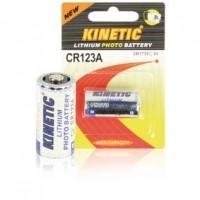 Foto van CR123 lithium foto batterij 3 V 1200 mAh 1-blister