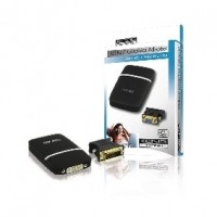 Foto van USB 2.0 - VGA / DVI adapter