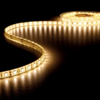 Foto van FLEXIBELE LED STRIP - WARM WIT 3500K - 300 LEDs - 5m - 12V
