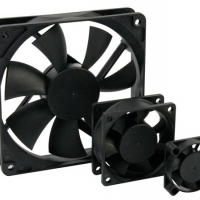 Foto van VENTILATOR 12VDC GLIJLAGER 120 x 120 x 25mm