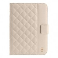 Foto van Quilted cover with stand for iPad mini