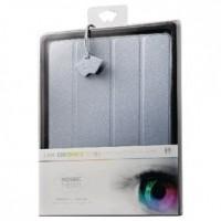Foto van Tablethoes van kunstleer voor iPad 2/3/4 lichtblauw