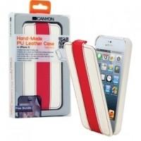 Foto van Tablet Flip-case Apple iPhone 5s Wit/Rood