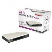 Foto van Wi-Fi toegangspunt N300+ met 5-poort switch