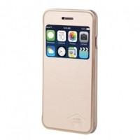 Foto van BUTTERFLY Case iPhone 6 Plus Gold