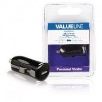 Foto van USB-autolader USB A female - 12V-autoaansluiting zwart 2.1A