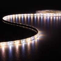 Foto van KIT MET LED-STRIP, CONTROLLER EN VOEDING - 300 LEDs - 5 m - 12 VDC - WARMWIT & KOUDWIT