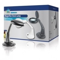 Foto van HQ table magnifying lamp black