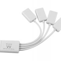 Foto van EWENT - USB 2.0 4-POORTS HUB - SPINVORMIG