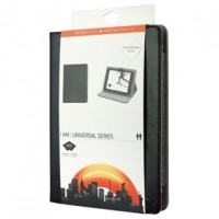 "Foto van Universele tablethoes van kunstleer voor tablet 9-10"" zwart"