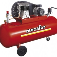 Foto van MECAFER - COMPRESSOR - 3 pk - 200 L - 10 bar