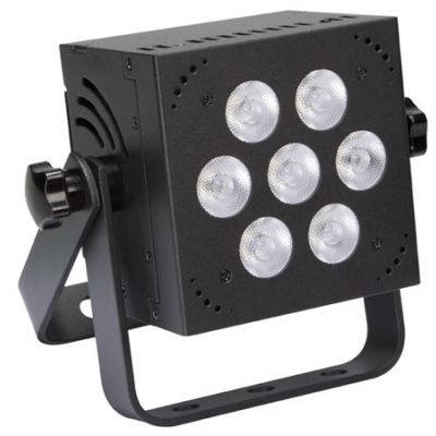 MINI LED-PAR - 7 x 8 W RGB - VIERKANT