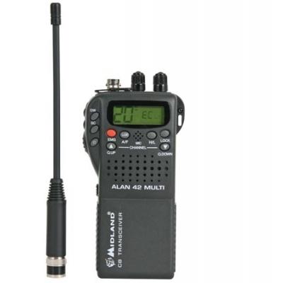 DRAAGBARE CB-RADIO MIDLAND® ALAN42 MULTI