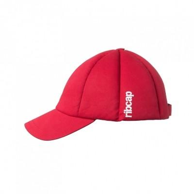 Ribcap Baseballcap Cotton Twill Red