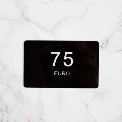 Foto van CADEAUBON 75 EURO