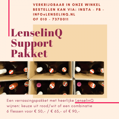 LenselinQ support pakket € 65,-