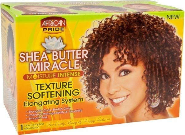 AFRICAN PRIDE SHEA MIRACLE Texture Softening
