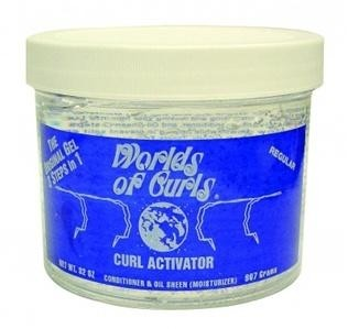 WORLDS OF CURLS Curl Activator Gel Regular