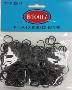 H TOOLZ RUBBERBANDS Zwart