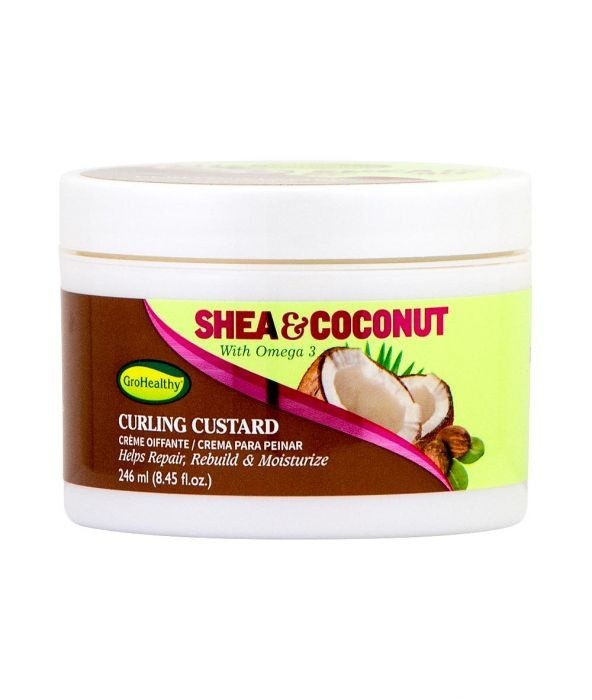 GROHEALTHY SHEA & COCONUT Curling Custard