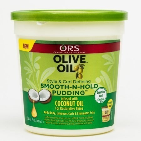 ORGANIC ROOT STIMULATOR Olive Oil Smooth N Hold Pudding