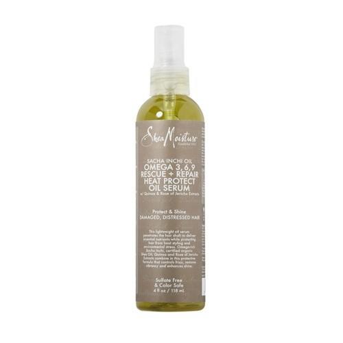SHEA MOISTURE SACHA INCHI OIL OMEGA 3,6,9 RESCUE + REPAIR Heat Protect Oil Serum