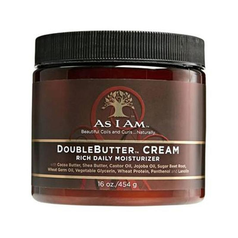 AS I AM Doublebutter Cream 16oz
