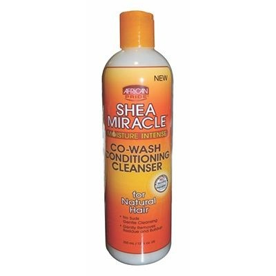 AFRICAN PRIDE SHEA MIRACLE For Natural Hair Co Wash Cleansing Conditioner