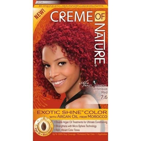 CREME OF NATURE intensive red 7.6