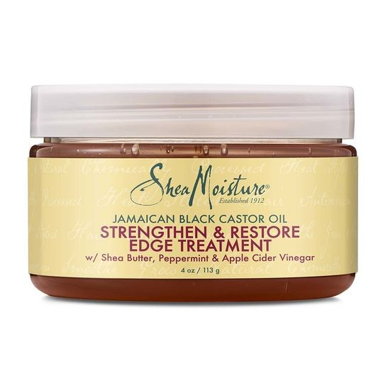 SHEA MOISTURE JAMAICAN BLACK CASTOR OIL Style & Smooth Edge Treatment Gel
