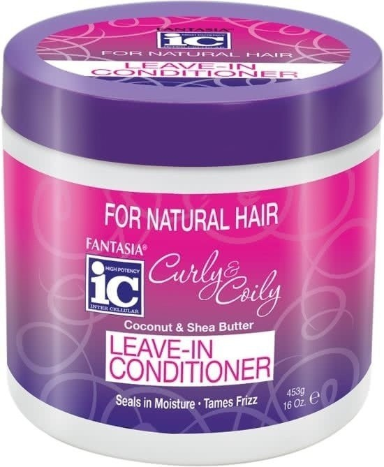 IC FANTASIA Curly & Coily Leave In Conditioner